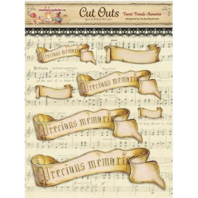 Asuka Studio Memory Place Forest Friends Die Cuts - Memories